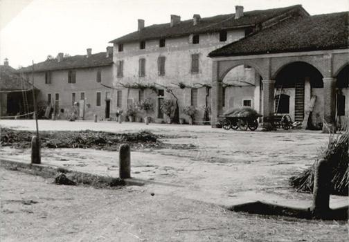 Cascina Razzina, Bordolano (Cr) - Foto: Luisito Bianchi, 1958 cca